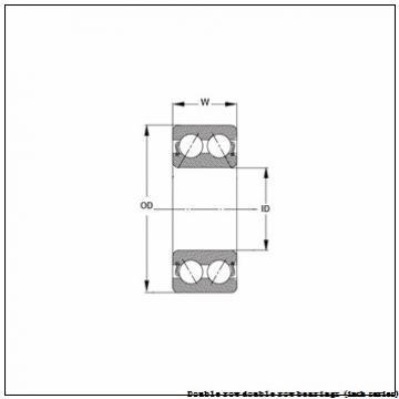 868D/854X Double row double row bearings (inch series)